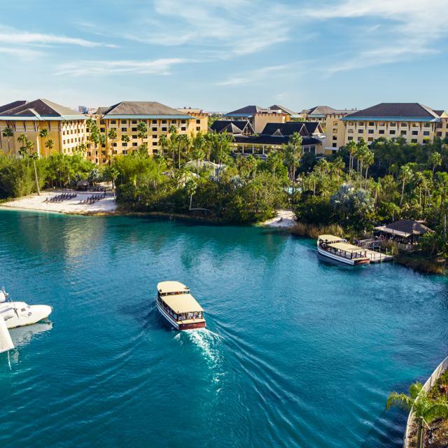 Loews Royal Pacific Resort at Universal Orlando™ water taxi