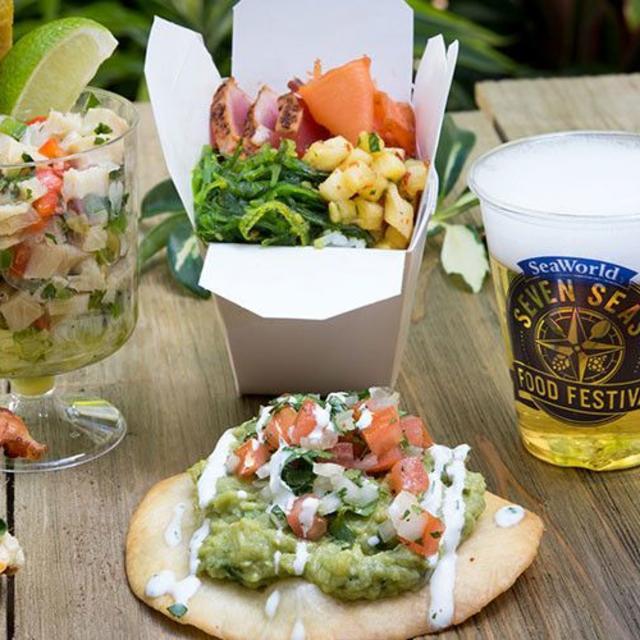 Seven Seas Food Festival at SeaWorld