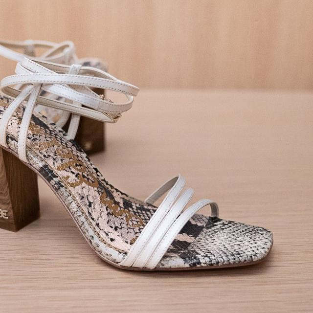 Sam Edelman Doriss Block Heel Sandal at The Mall at Millenia