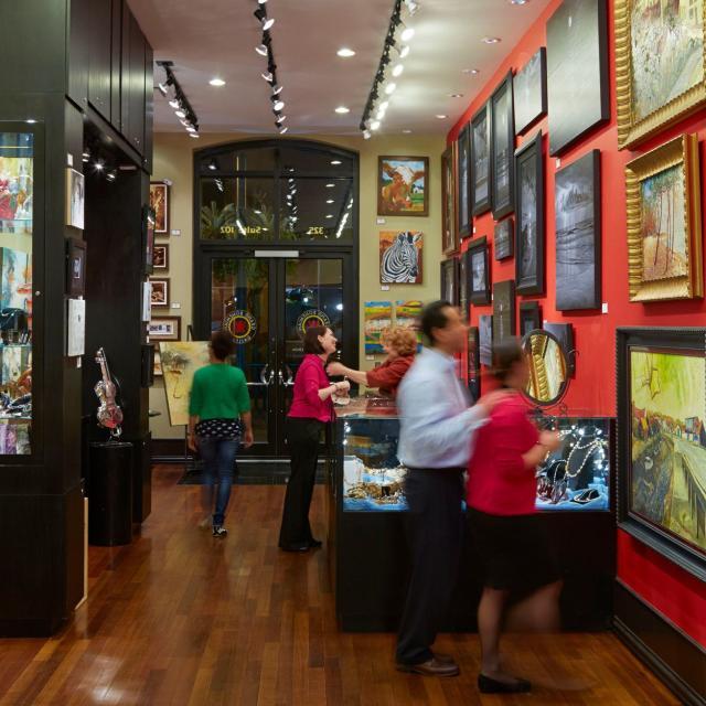 Grand Bohemian Hotel art gallery