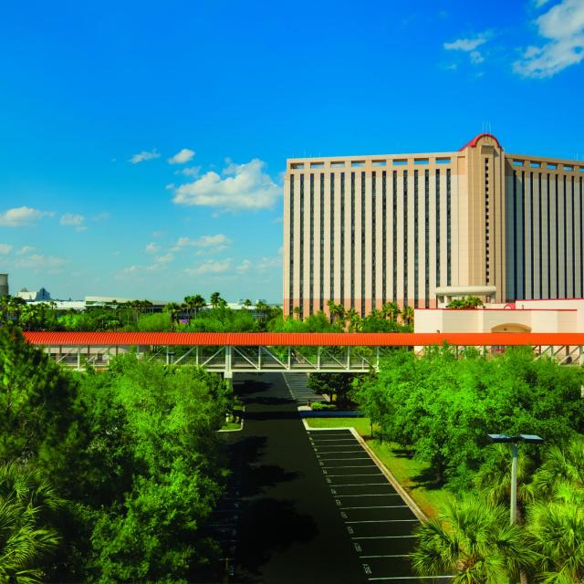 Rosen Centre Hotel aerial view