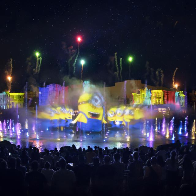 Universal's Cinematic Celebration Nighttime Show at Universal Studios Florida