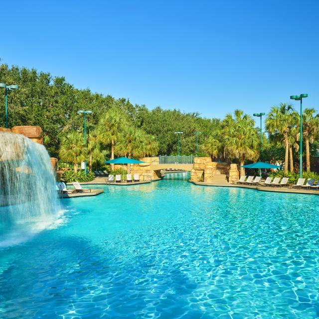 Walt Disney World Swan and Dolphin Resort grotto pool
