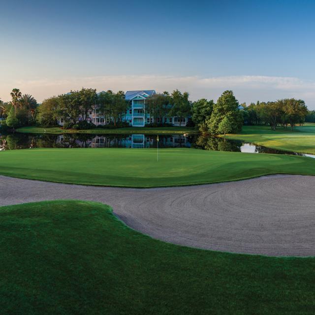 Walt Disney World® Golf Lake Buena Vista Course hole #6