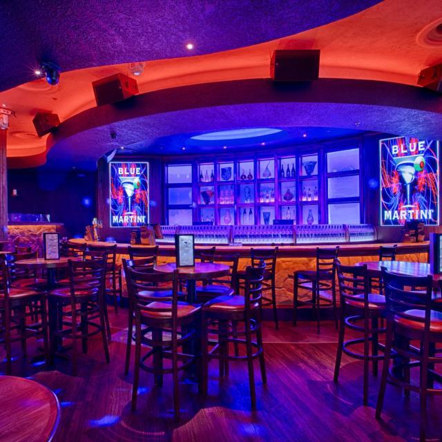 Blue Martini bar area