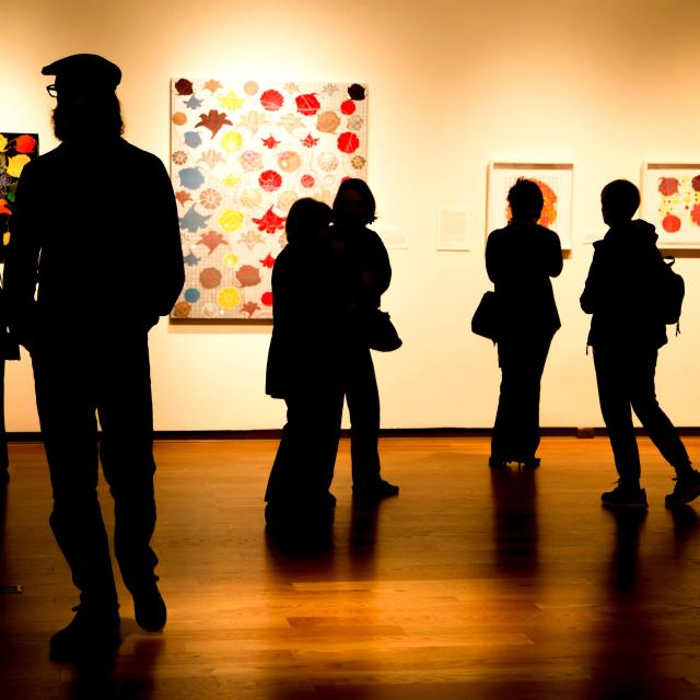 Orlando Museum of Art exhibit silhouettes