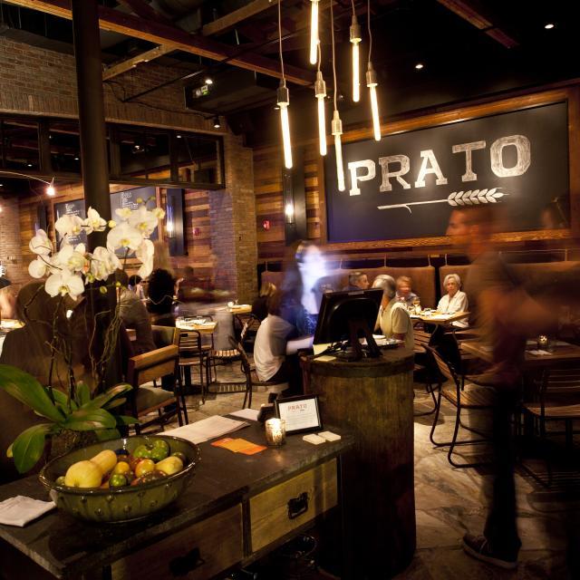 Prato hostess and interior