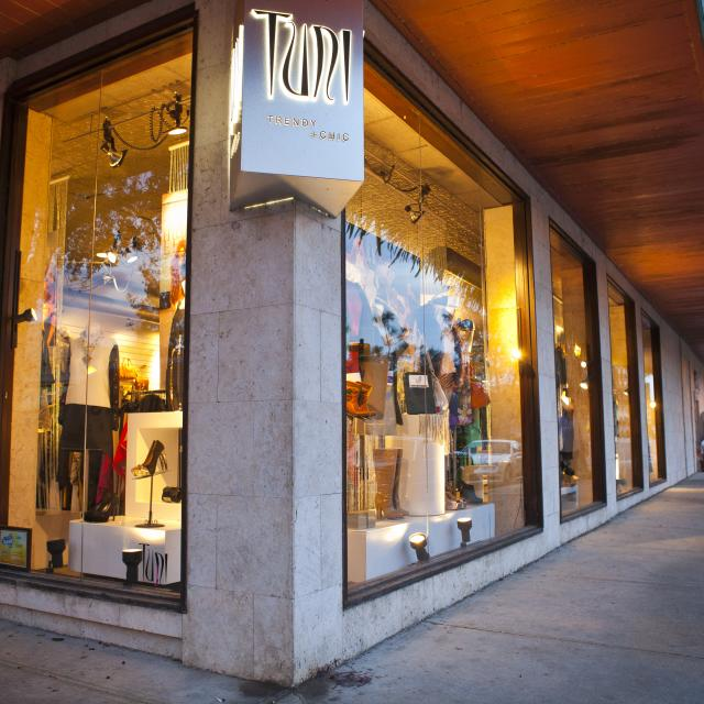 a shop on Park Avenue in Winter Park