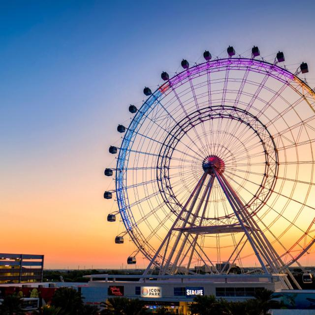 The Wheel at ICON Park on International Drive