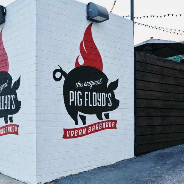 Pig Floyd's restaurant in the Mills 50 area of Orlando