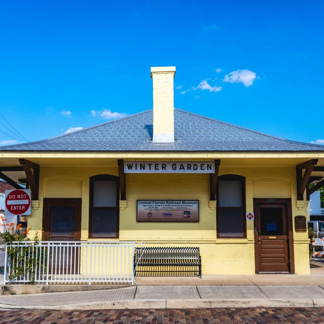 Central Florida Railroad Museum in downtown Winter Garden