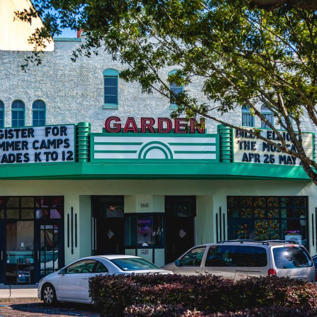 Garden Theater in downtown Winter Garden