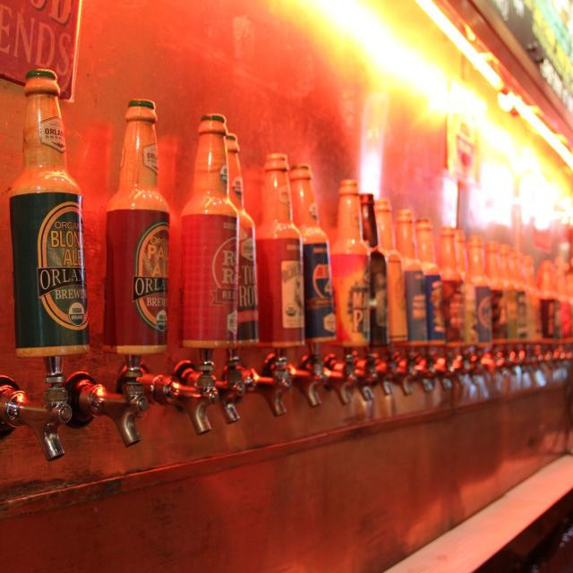 Orlando Brewing Company is a certified organic brewery offering craft beer, entertainment and a relaxed atmosphere.