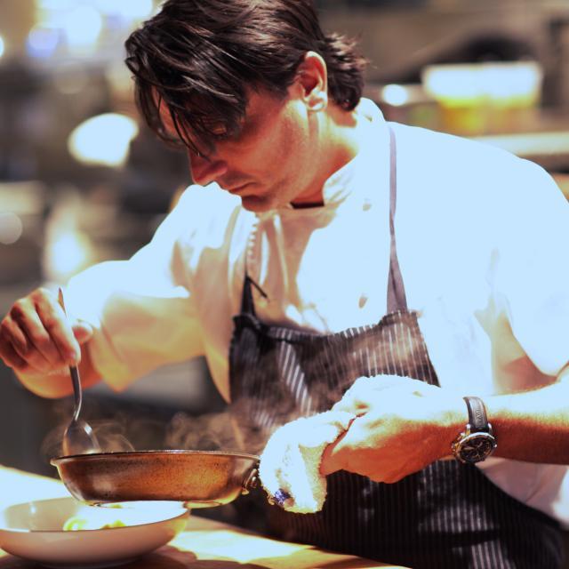 chef Brandon McGlamery of Luma on Park restaurant
