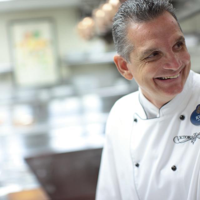 Chef Scott Hunnel of Victoria & Albert's restaurant