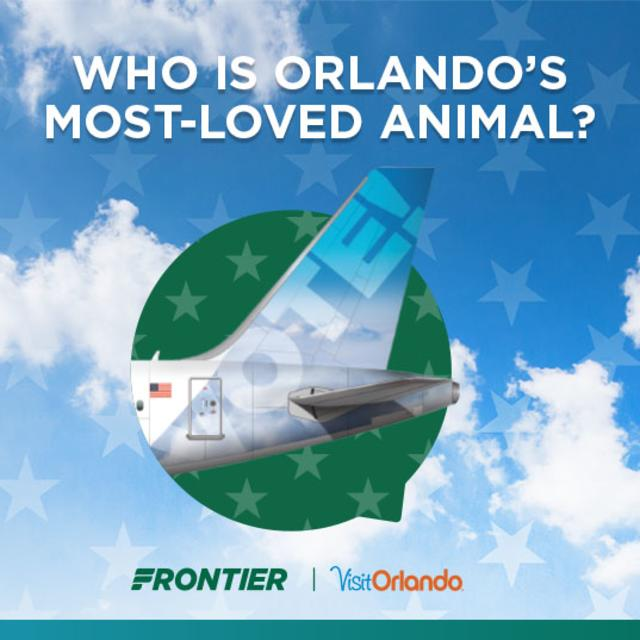 Who is Orlando's Most-loved animal? Visit Orlando Frontier promotion