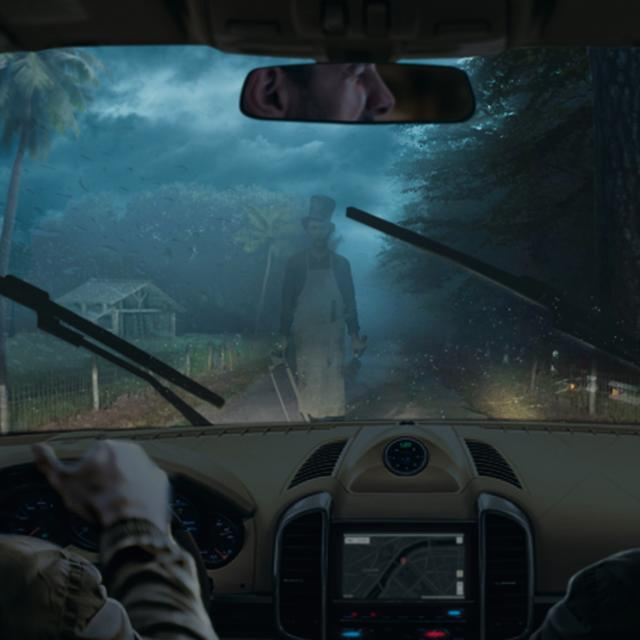 A promo image for The Haunted Road in Orlando