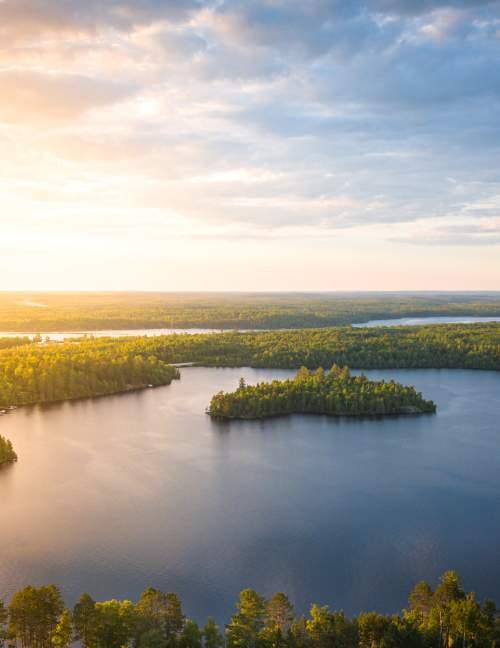 Garden Lake Sunset