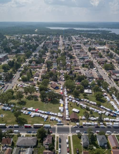 Whiteside Park Festival Aerial