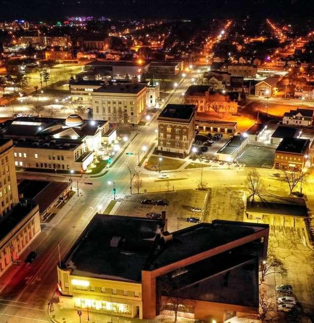 Beautiful Oshkosh City Shot