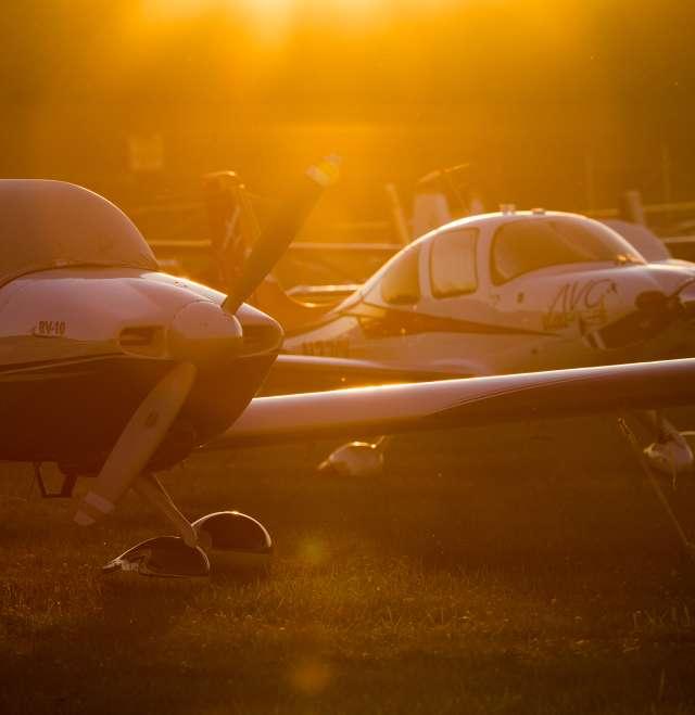 AirVenture Sunset