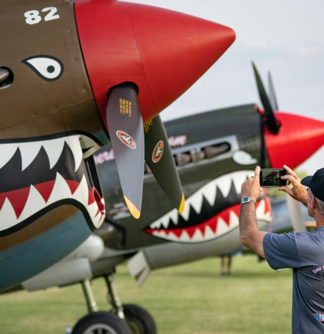 AirVenture Warbird Man