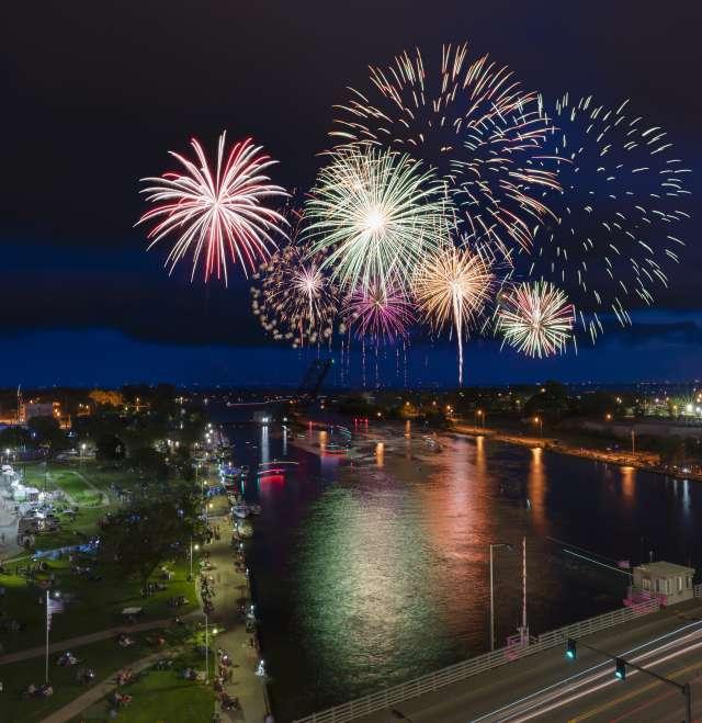 Downtown Fireworks