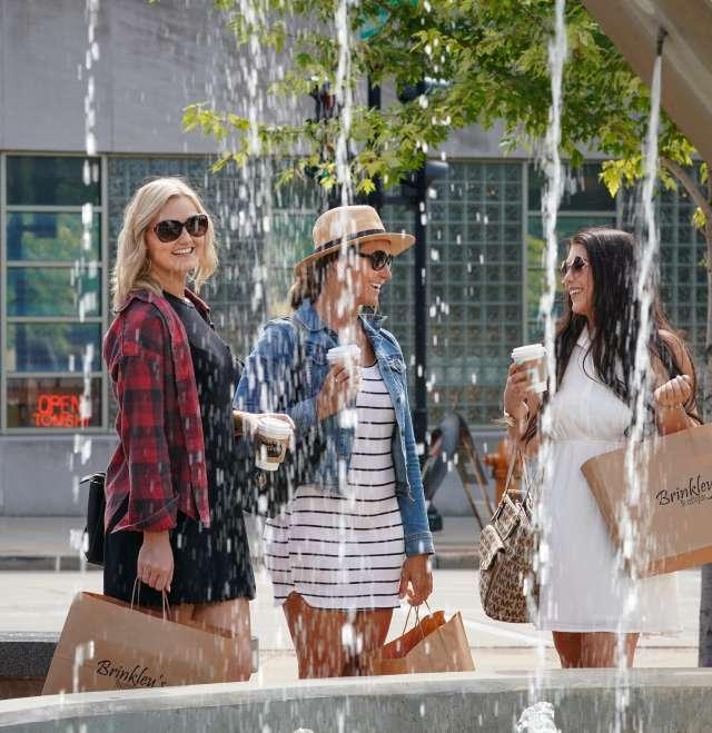 Shopping in Downtown Oshkosh