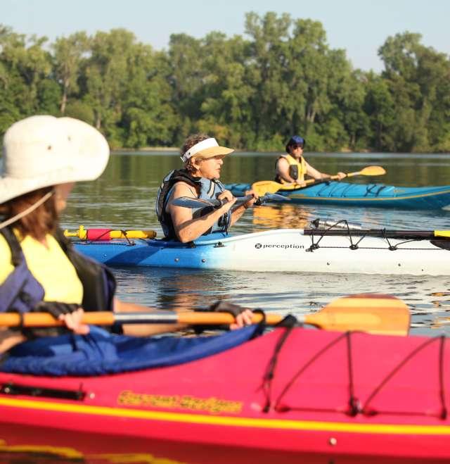 Kayaking Lake Winnebago