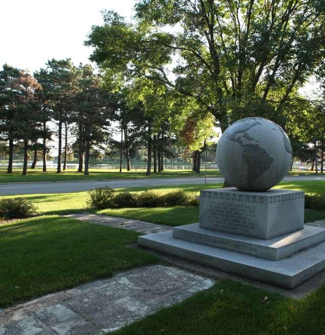 Menominee Park Globe