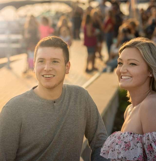 Riverwalk Sunny Couple
