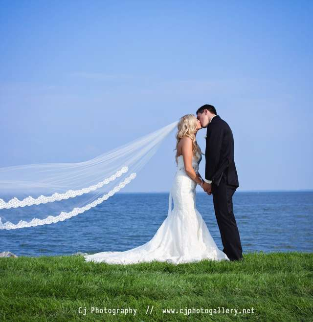 The Waters Wedding Kiss