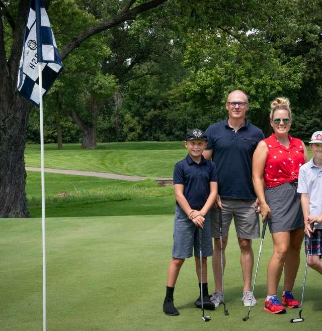 Golfing at Oshkosh Country Club