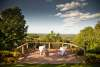 Dine outdoors in the Pocono Mountains
