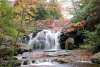 Fall Waterfalls in the Pocono Mountains