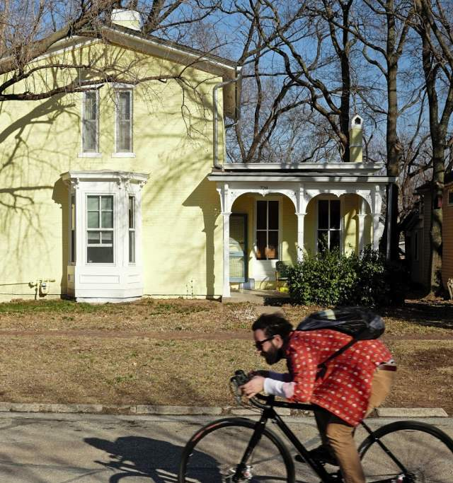 Cycling in Lawrence Kansas