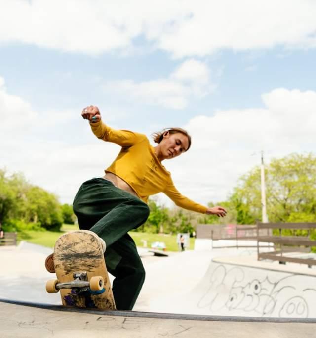 Centennial Skate Park in Lawrence Kansas
