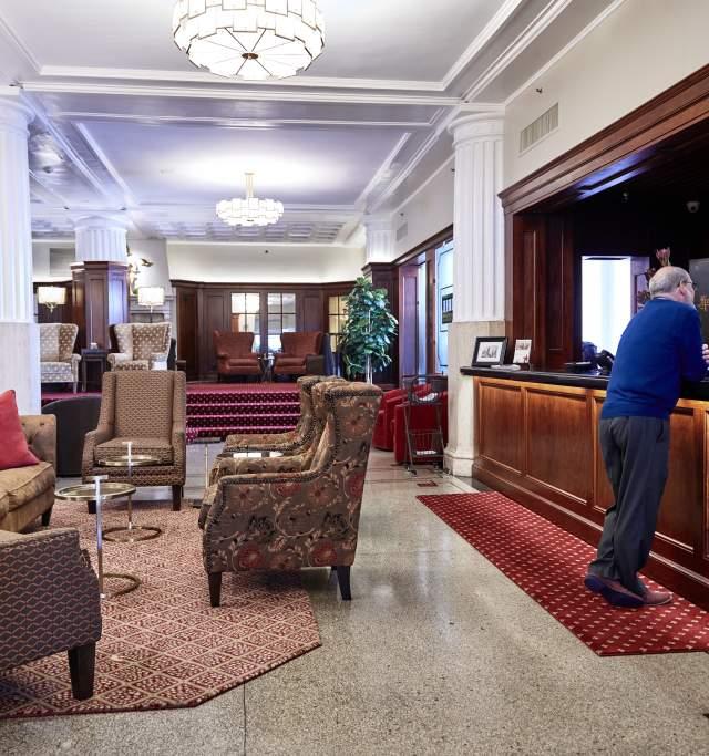 Eldridge Hotel in Downtown Lawrence Kansas