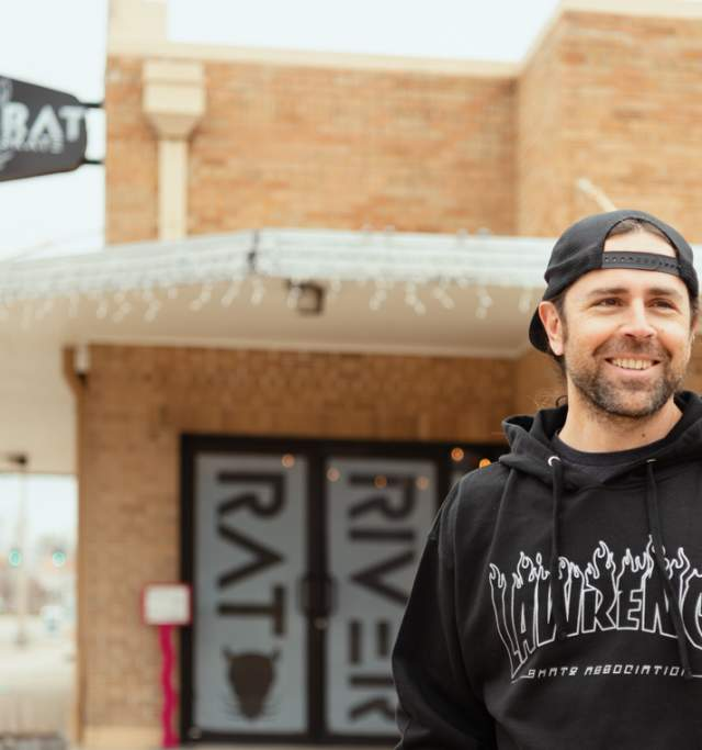 River Rat Skate Shop in Lawrence Kansas