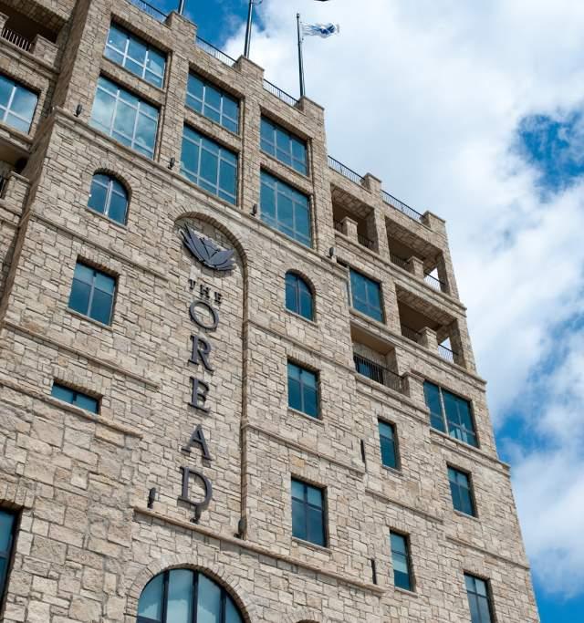 Oread Hotel in Lawrence Kansas