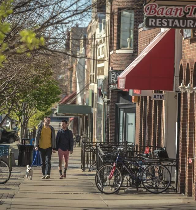 Downtown Lawrence Kansas