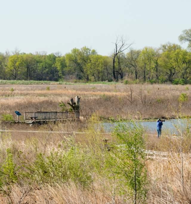 Baker Wetlands in Lawrence, Kansas