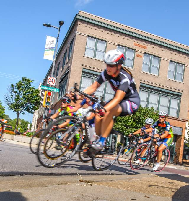 Tour of Lawrence in Lawrence Kansas