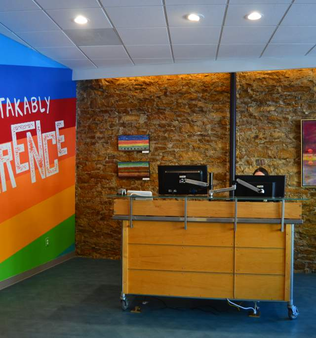 Lawrence Visitors Center in Downtown Lawrence Kansas