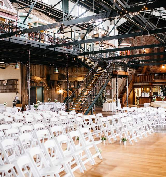 Abe and Jakes wedding venue in Lawrence Kansas