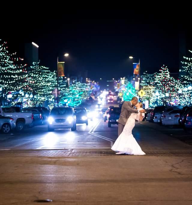 Wedding in Downtown Lawrence Kansas
