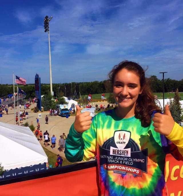 USATF Junior Olympics in Lawrence Kansas