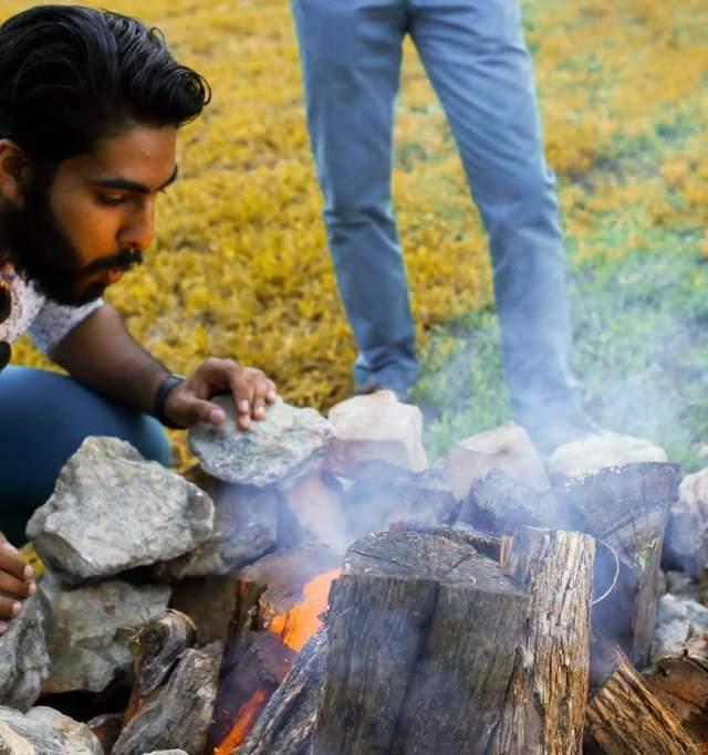 Camping at Clinton Lake in Lawrence Kansas