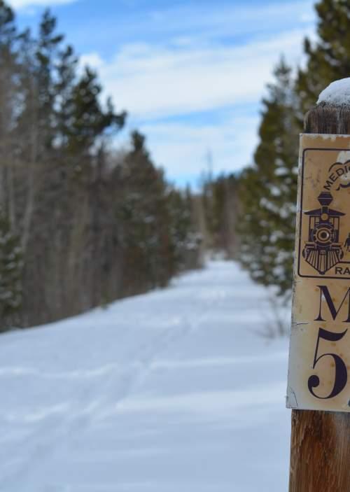 Medicine Bow Rail Trail Laramie Wyoming