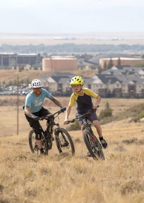 Pilot Hill Trails Laramie Wyoming